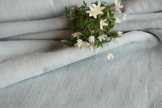 antique dyed linen roll S 44 gogmuljalu