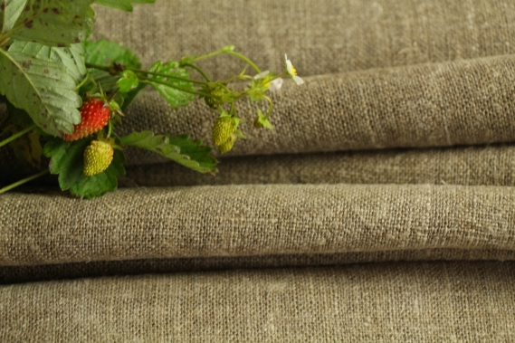 antique french linen roll 6.56y desert colors TW 783