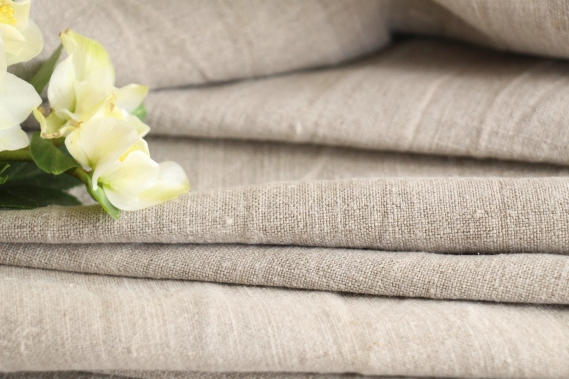 antique french linen roll TW 485
