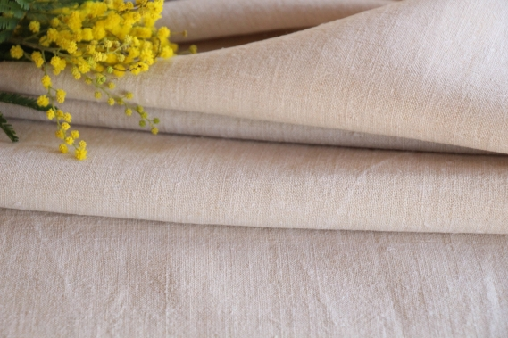 antique french linen roll TW 498