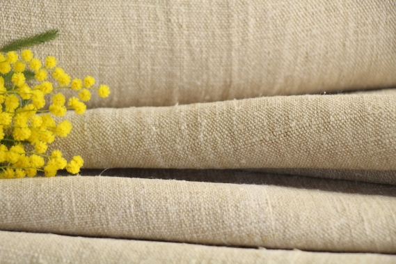 antique plain linen roll TW 517
