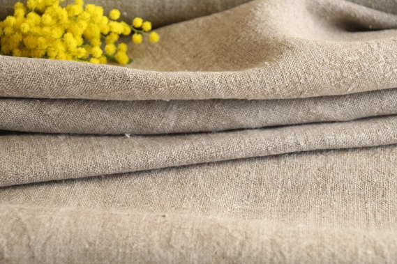 antique plain linen roll TW 511