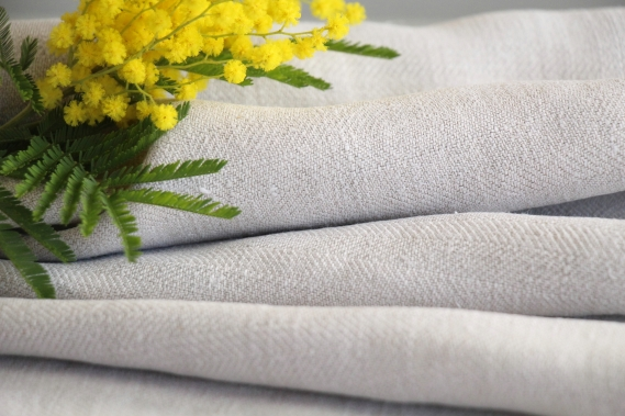 antique plain linen roll TW 512