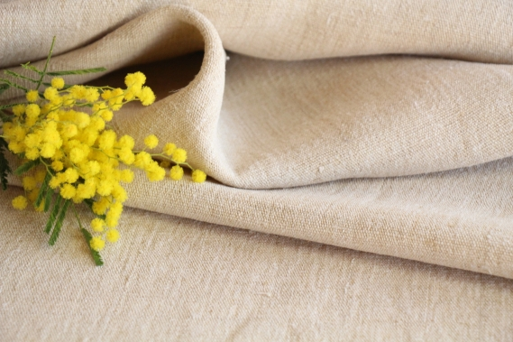 antique plain linen roll TW 524