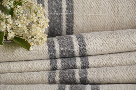 rare grainsack linen roll TP 232 grey