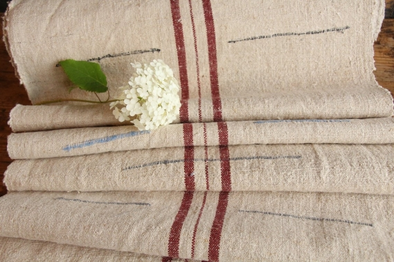 RESERVED FOR PH.antique wabi-sabi linen Roll SP 176 gogmuljalu