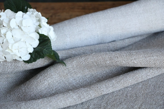 Antique handloomed french Linen Roll R 754 리넨